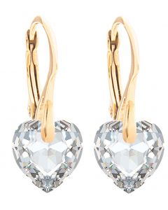 Ah! Jewellery®  Crystals From Swarovski® Heart Earrings