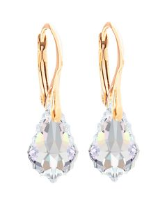 24K Gold Over Sterling Silver Aurore Boreale Baroque Earrings